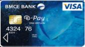 بطاقة المخططات المالية السياحية